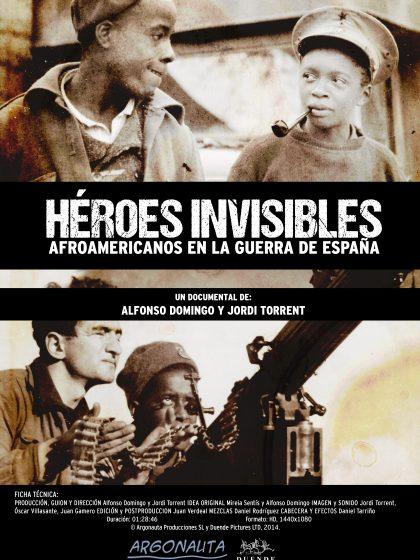 cartel Heroes invisibles español